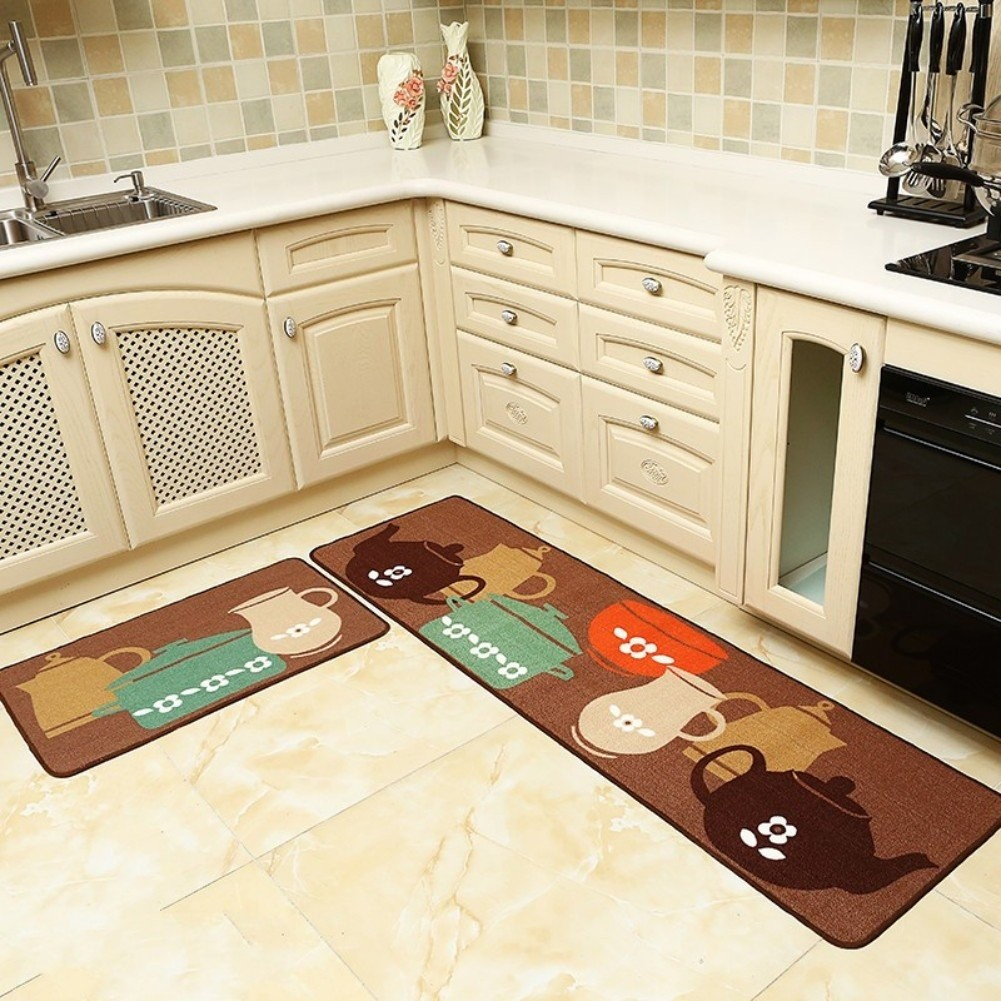 Beachy Kitchen Rugs