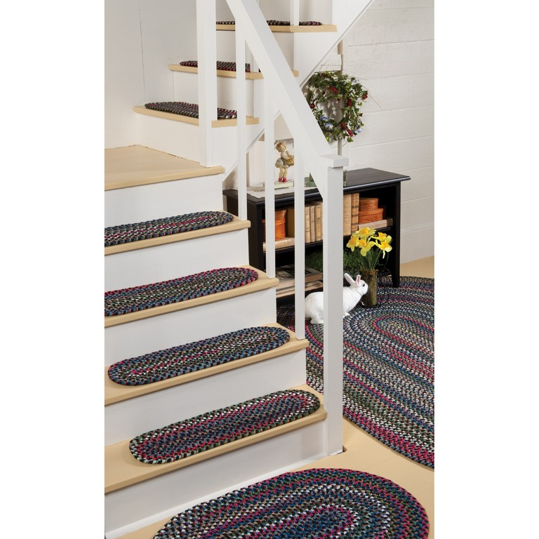 Braided Rug Stair Treads Top Home Information