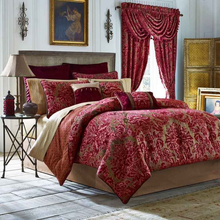 Complete bedding sets with curtains top home information for Complete bedroom sets with curtains