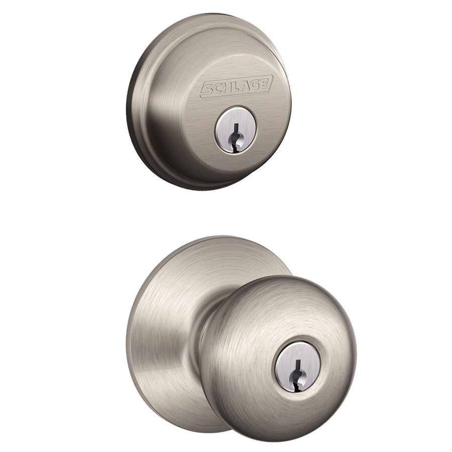 Double Keyed Door Knob