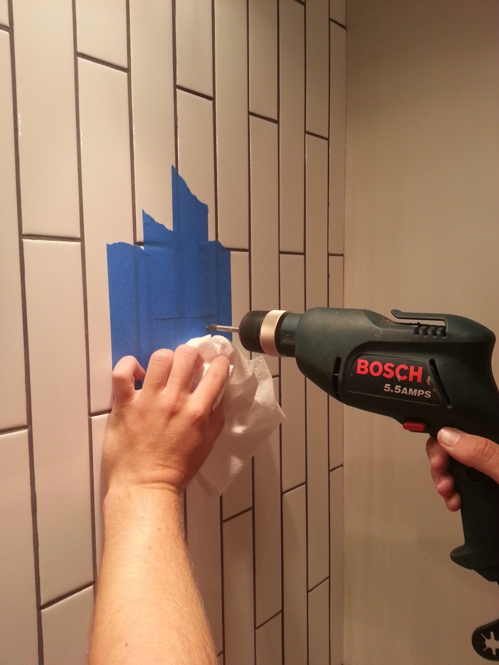 Drilling Through Ceramic Tile  Top Home Information