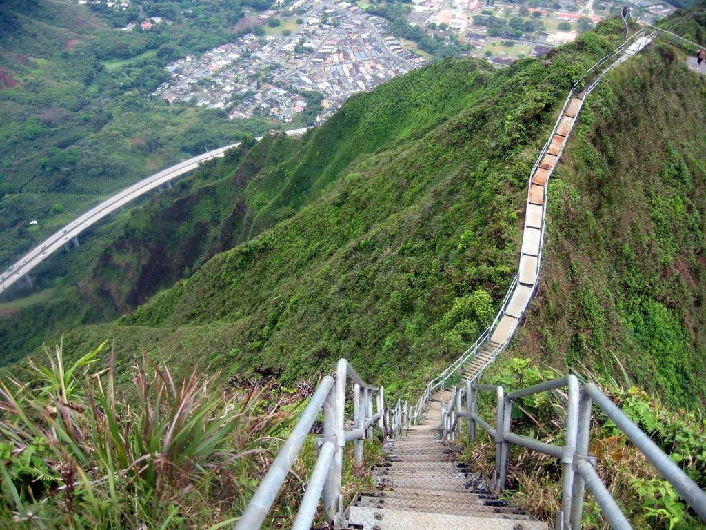 Haiku Stairs Of Oahu