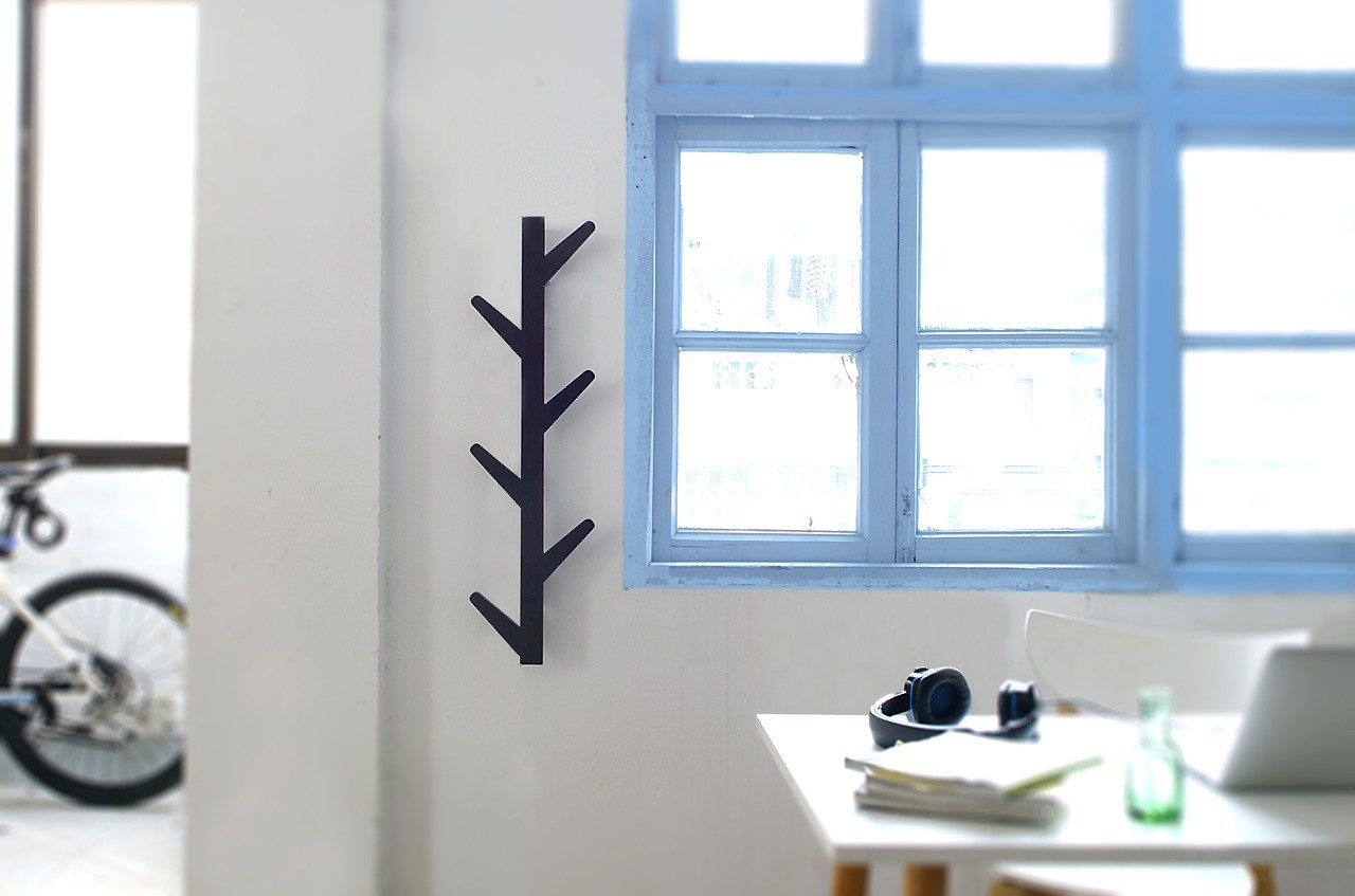 Hang Ladder On Wall