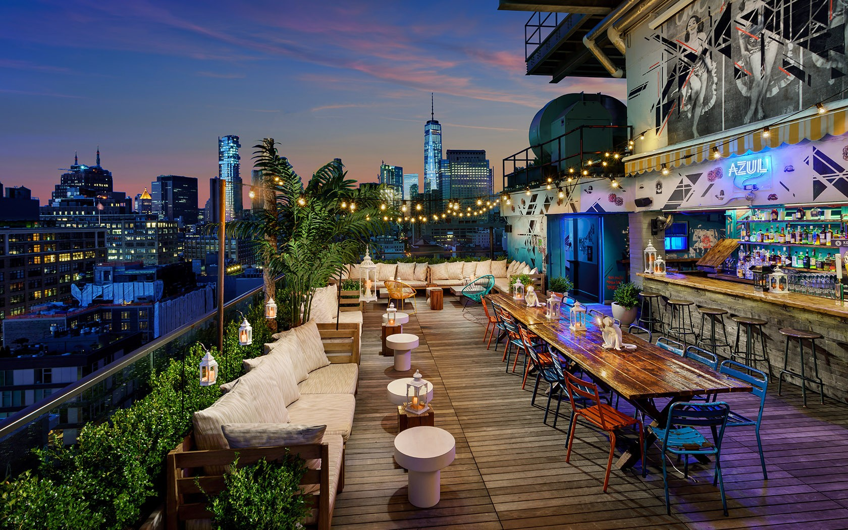 Haven Rooftop New York Ny