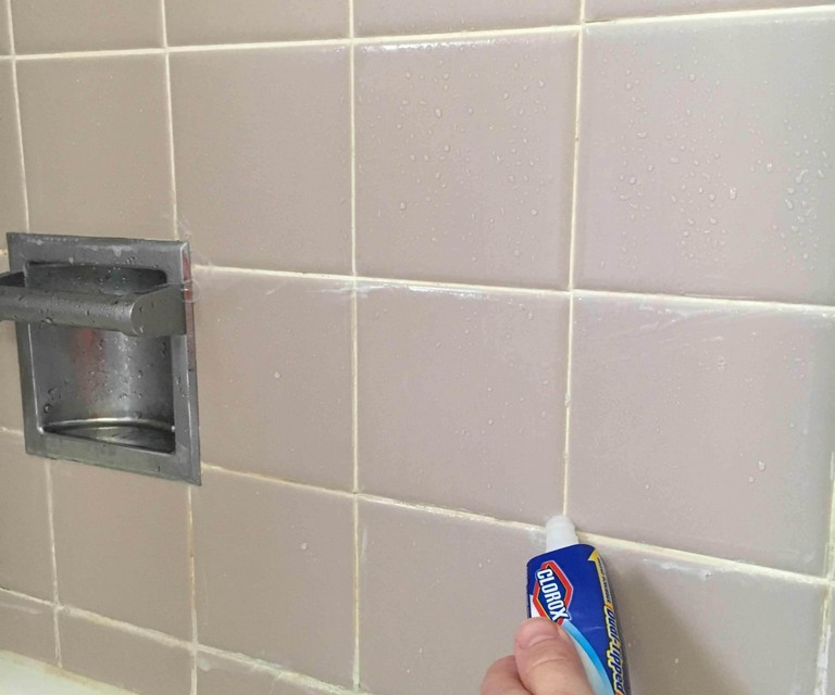 how to get rid of mold in shower grout top home information. Black Bedroom Furniture Sets. Home Design Ideas