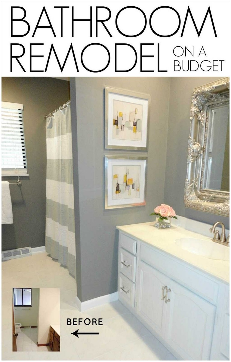 how to remodel a bathroom yourself top home information. Black Bedroom Furniture Sets. Home Design Ideas