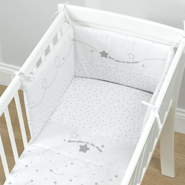 Moon And Stars Crib Bedding Set Top Home Information