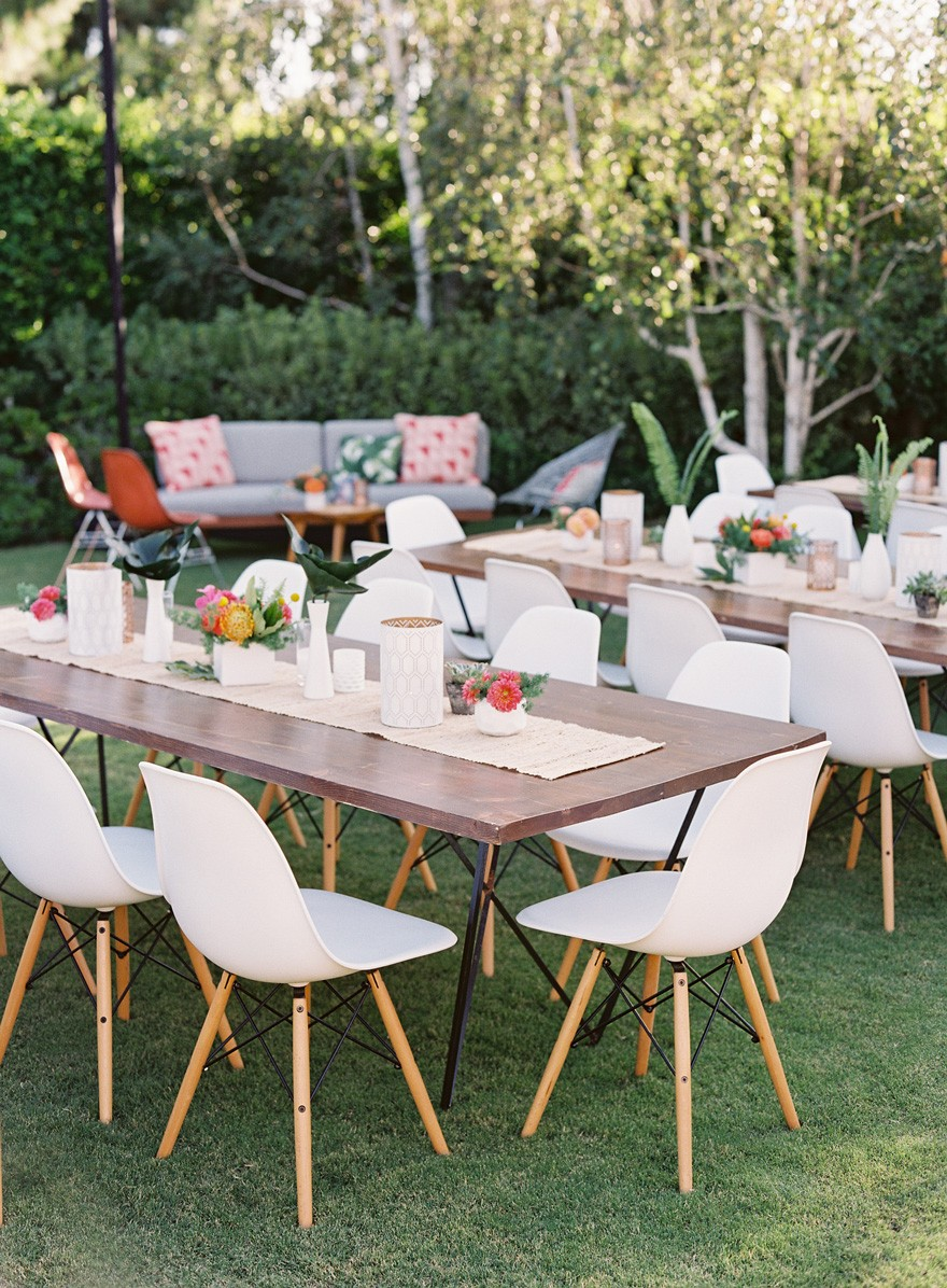 Outdoor Party Furniture Rental