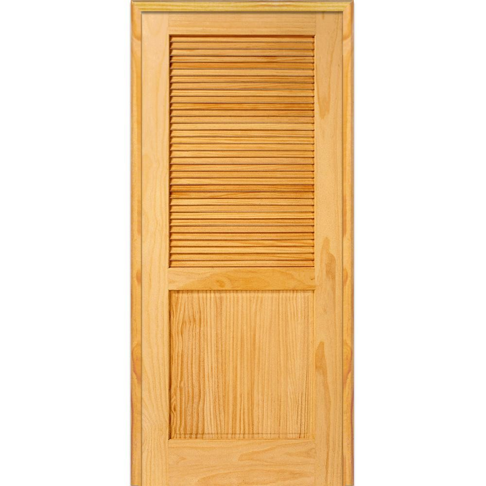 Prehung Louvered Interior Doors