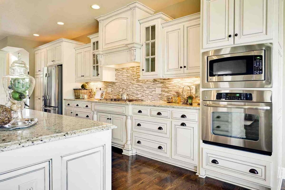 Professional Spray Painting Kitchen Cabinets