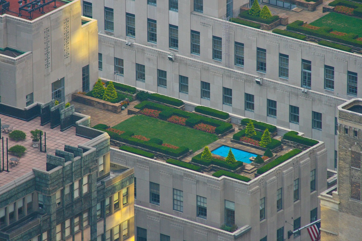 Rockefeller Center Rooftop Garden