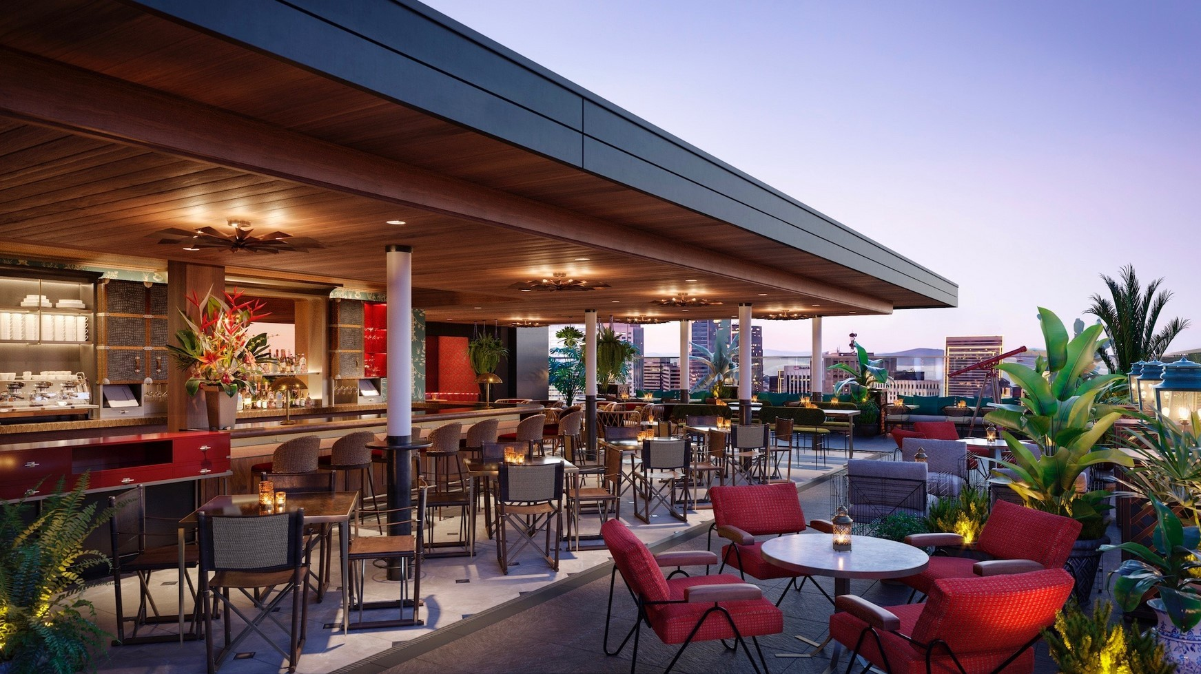 Rooftop Restaurants Sf