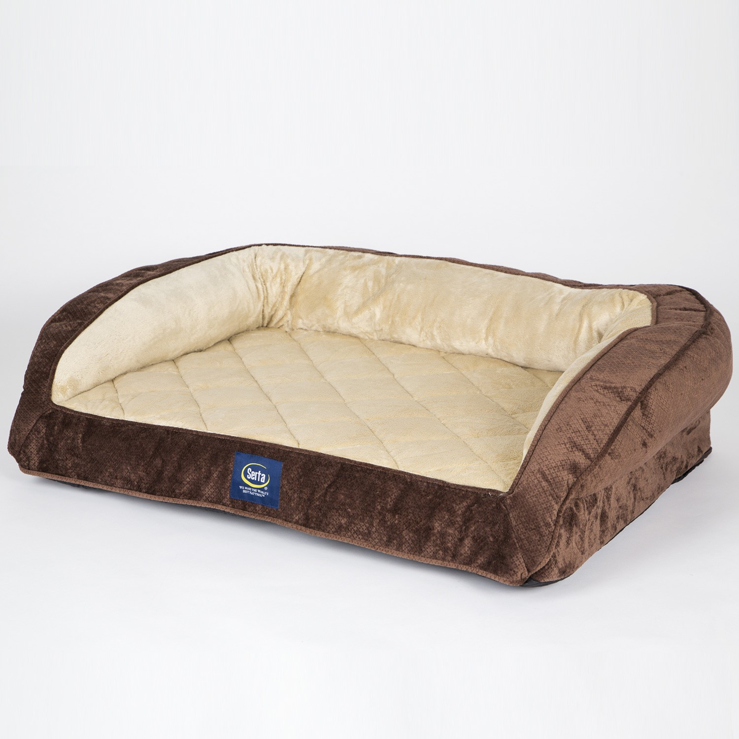 Serta Perfect Sleeper Oversized Orthopedic Sleeper Sofa Pet Bed Top Home Information