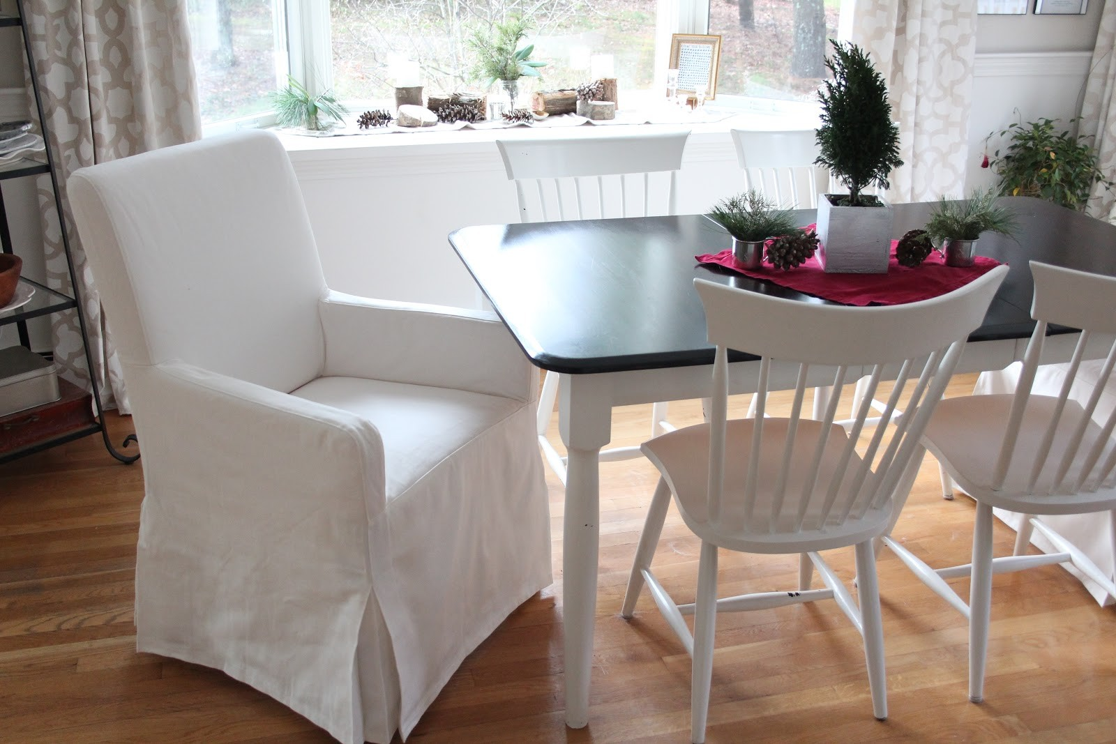 Slipcovers For Dining Room Chairs Without Arms | Top Home ...