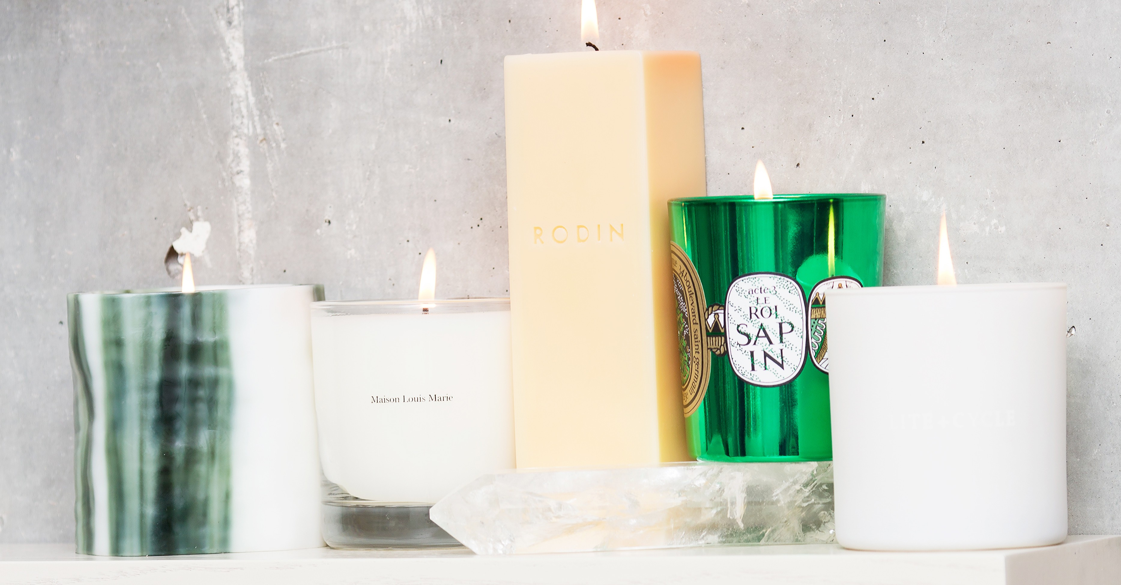 Snl Peach Candle