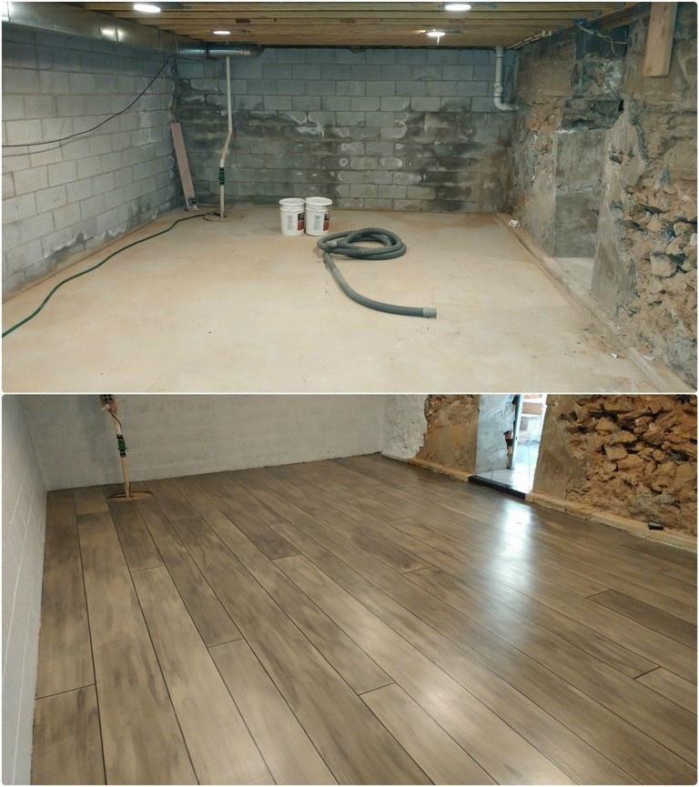 What Is The Best Flooring For A Basement