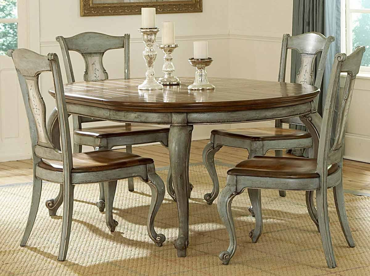 Beachy Dining Room Sets Top Home Information