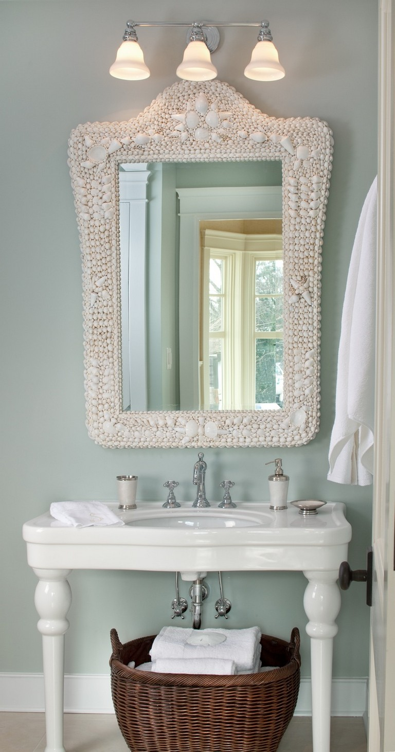 Coastal Mirrors For Bathroom