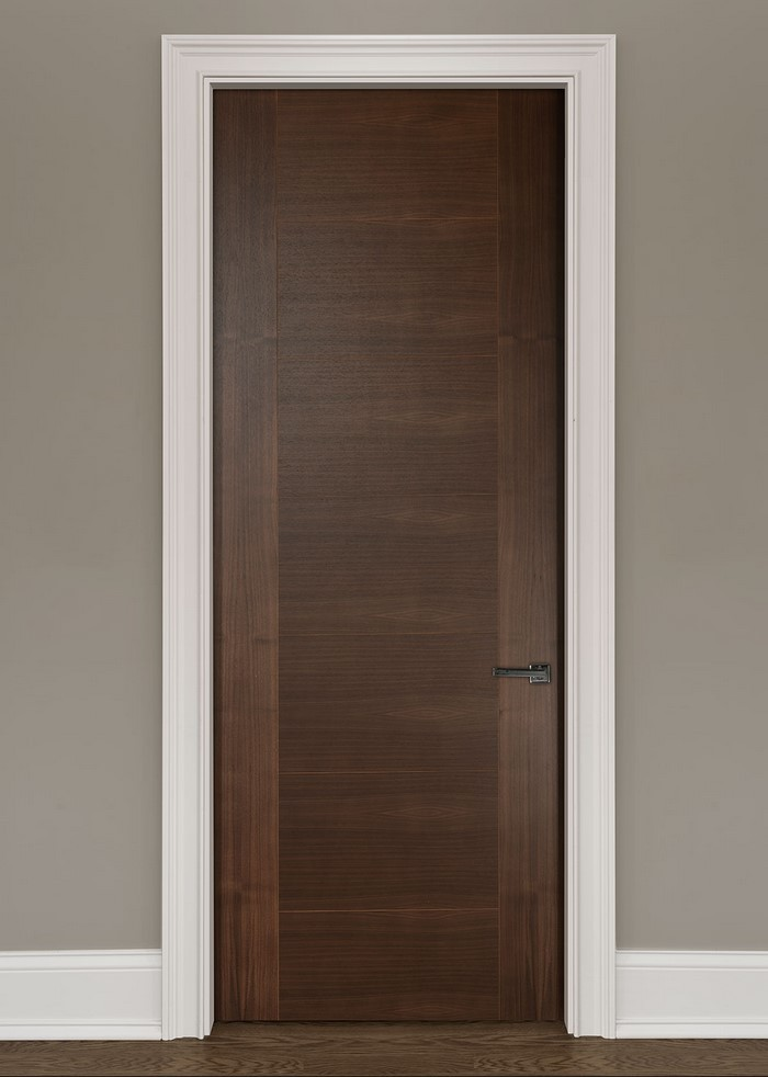 Dark Wood Interior Doors