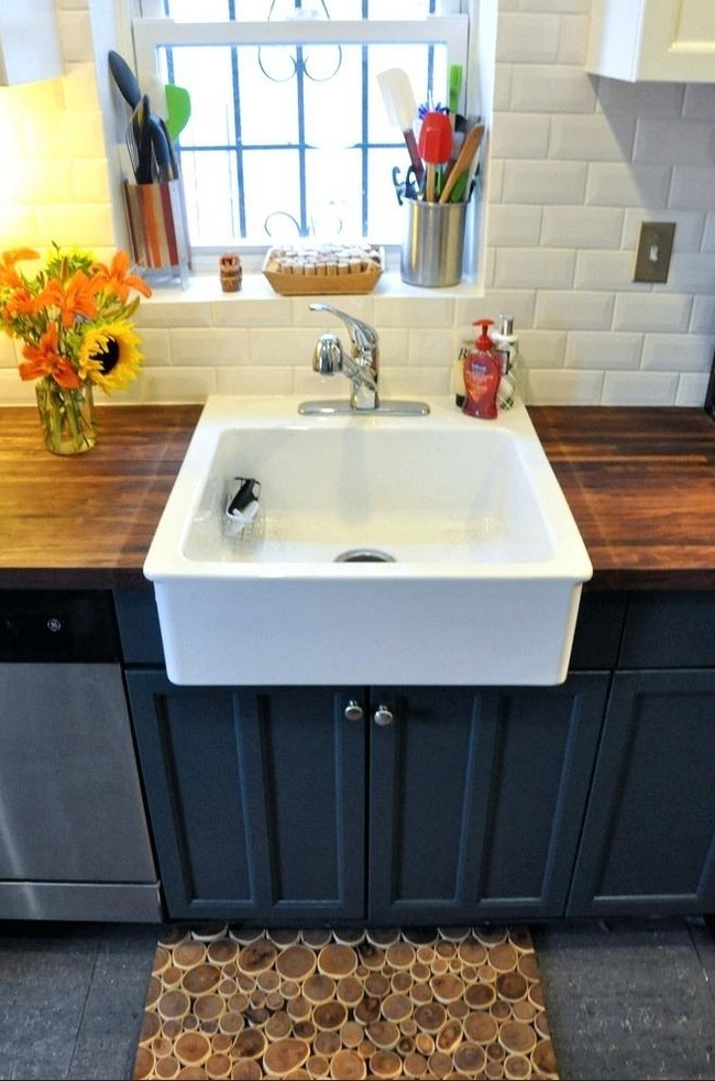 Farmhouse Kitchen Sink Cabinet