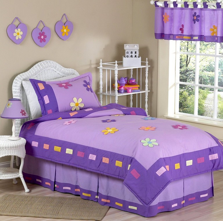 Girls Purple Bedding Sets