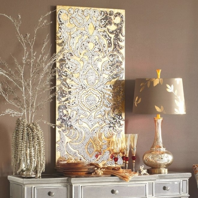 Gold And Silver Wall Art | Top Home Information