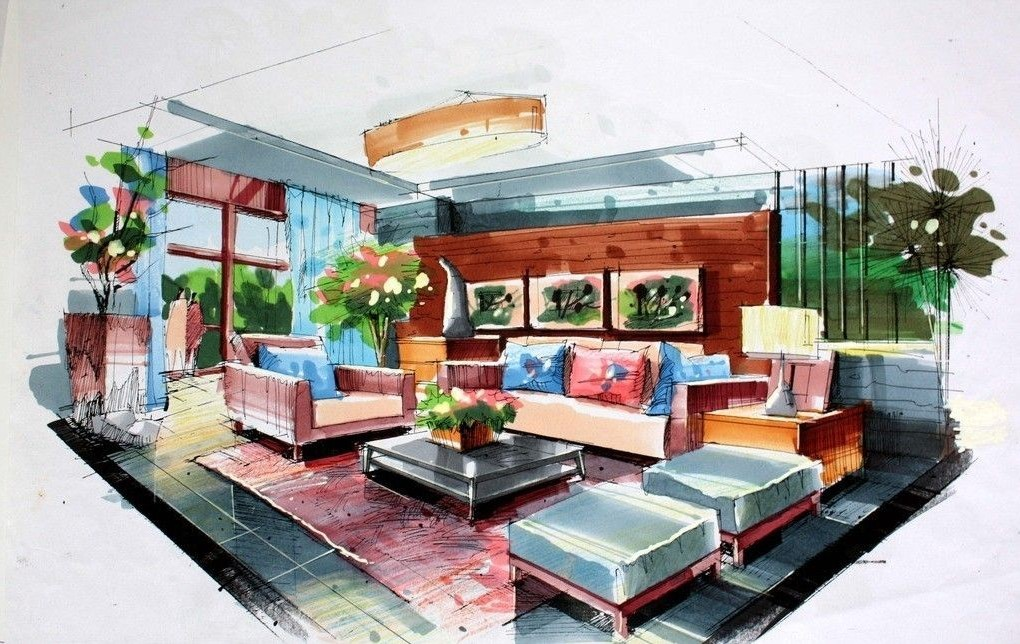 Interior Design Drawing | Top Home Information