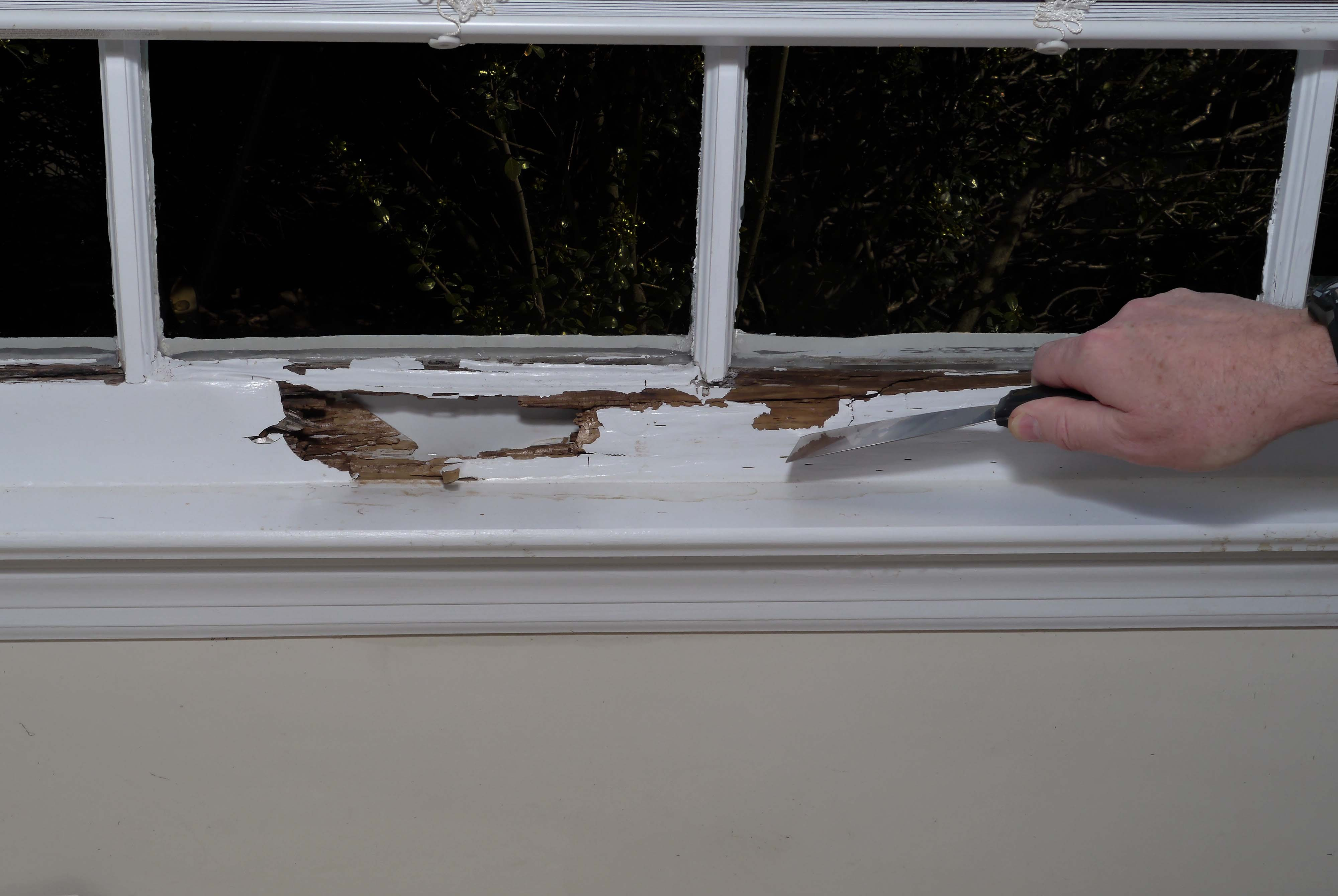 Interior Window Sill Repair