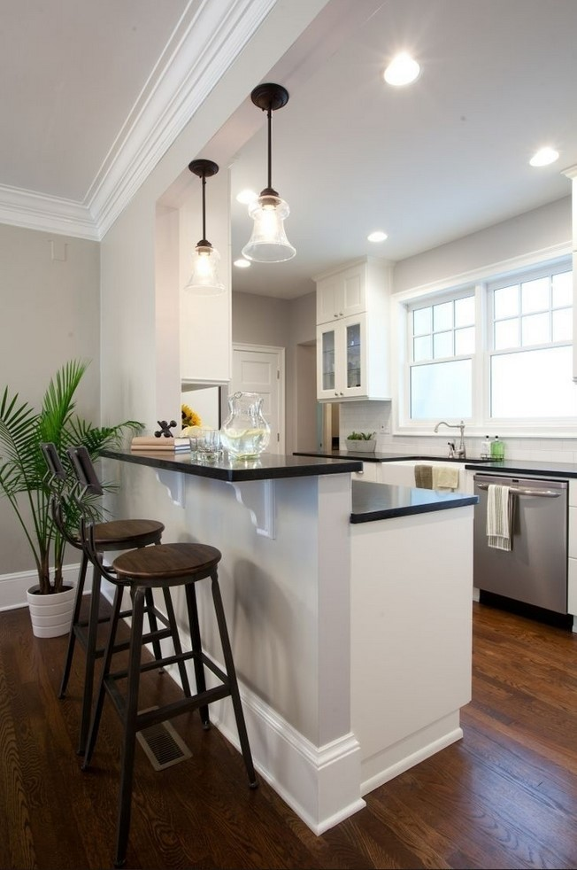 Kitchen Half Wall Ideas