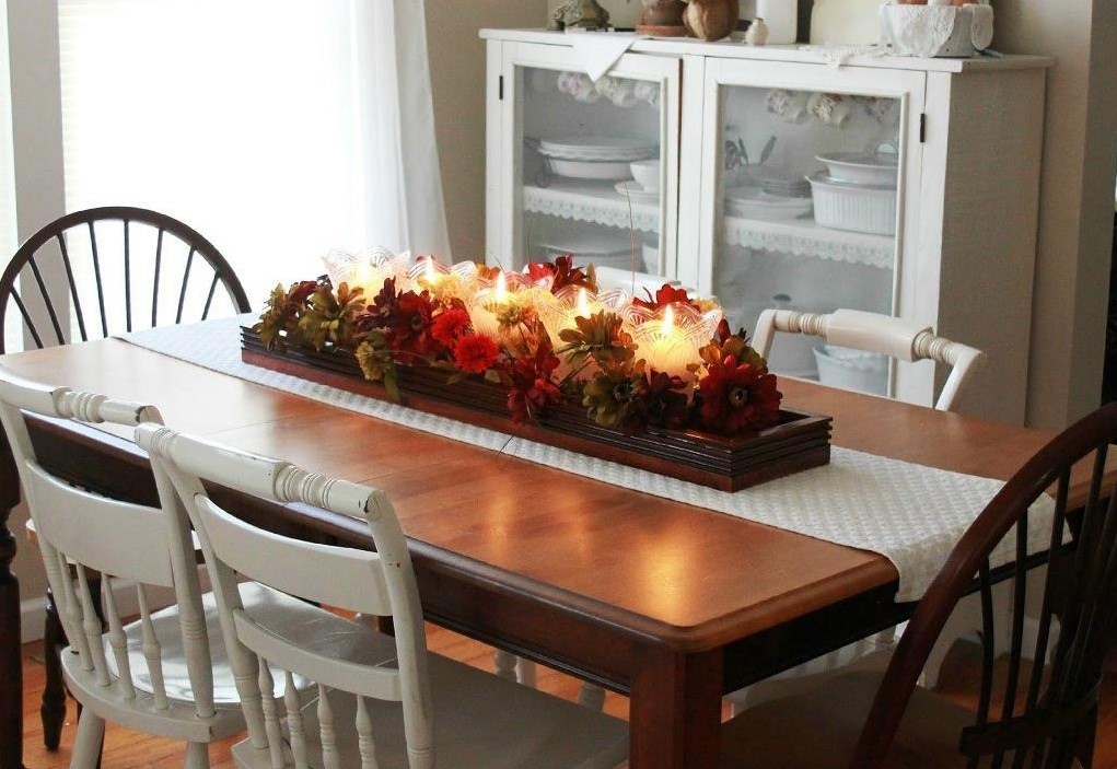 Kitchen Table Centerpieces Ideas