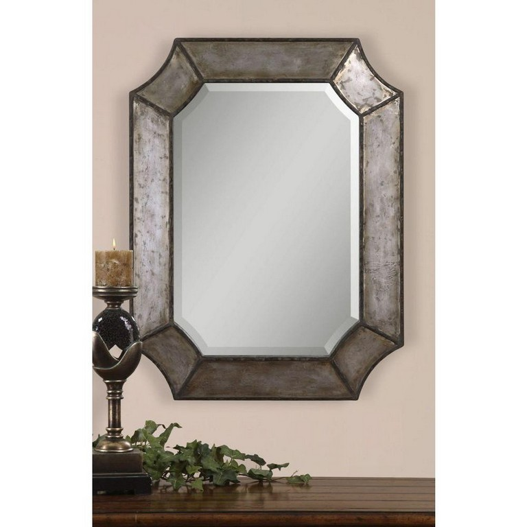 Metal Framed Bathroom Mirrors