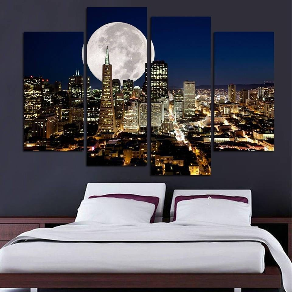 Metal Moon Wall Art