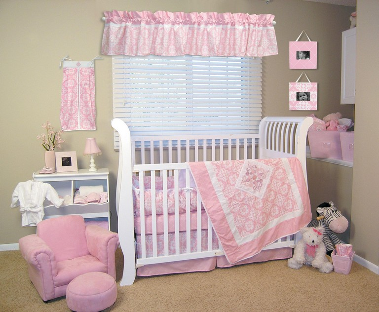 Mini Crib Bedding Sets For Girl Top Home Information