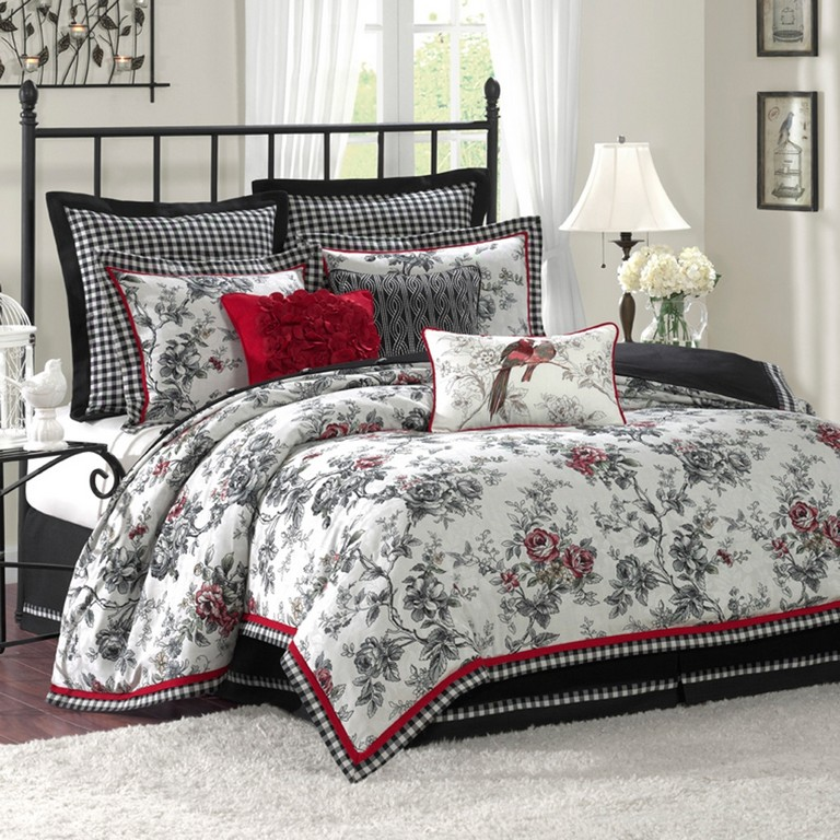 Red Bedding Sets King Size