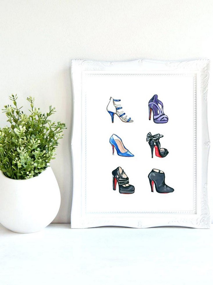 Shoes Wall Art