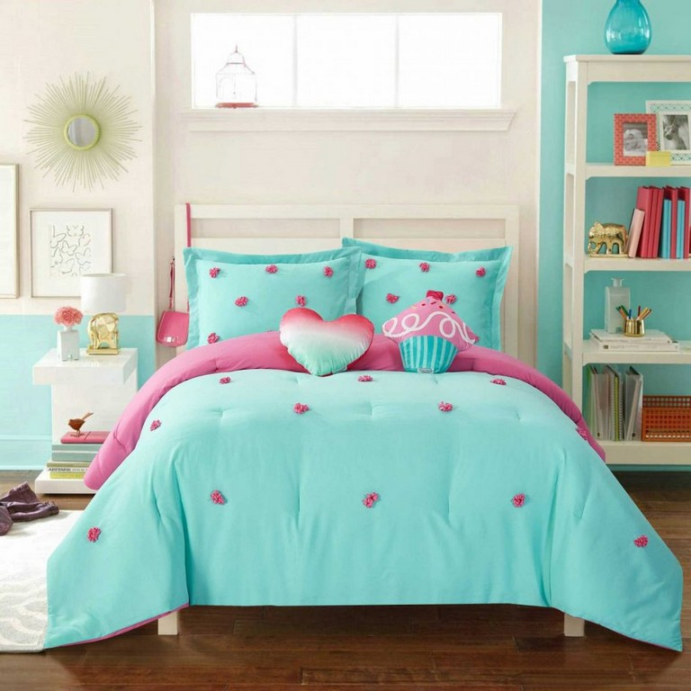 Teal Twin Bedding Sets