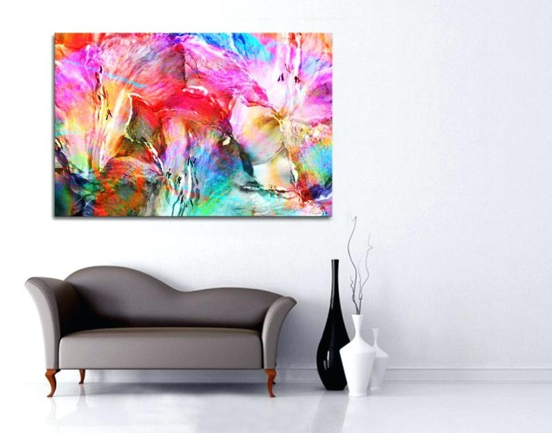 Wall Art With Teal Colors