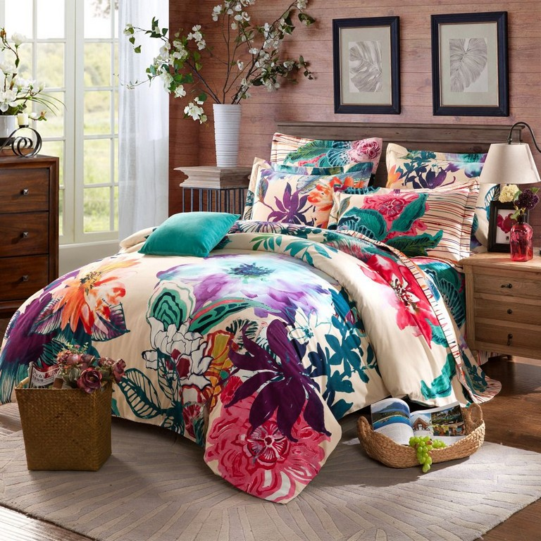 Watercolor Bedding Sets