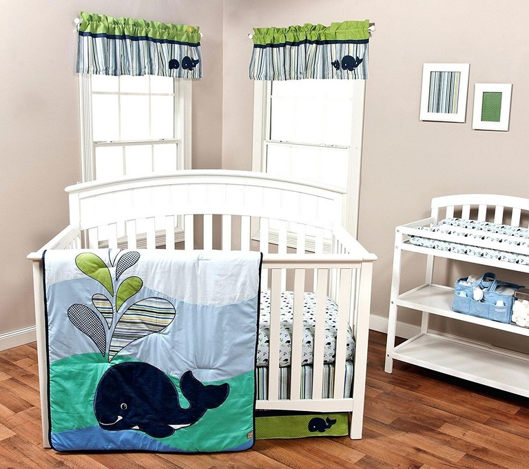 Whale Crib Bedding Sets